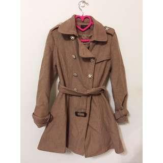 大衣外套 可當洋裝 無敵顯瘦