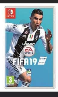 SELLING FIFA 19 SWITCH