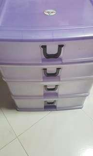 Toyogo 4 tiers documents drawer