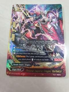 Buddyfight secret rare barlbatzz