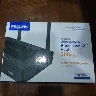 🚚 Prolink Wireless Router