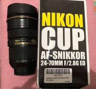 Nikon Lens Tumbler