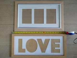 Photo Frames (2 nos., 450mm wide)