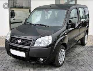 Short term rental- Fiat Doblo