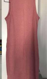 Cotton on pink dress