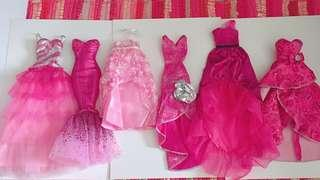 Barbie Party gown