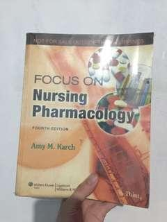 Nursing Parmachology (4th edition- by Amy Karch)