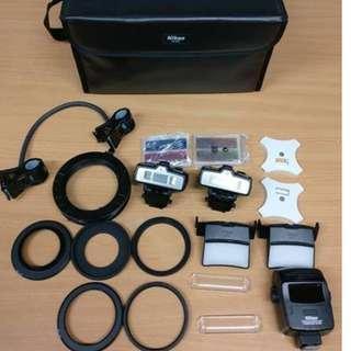 Nikon R1C1 Macro Flash Kit