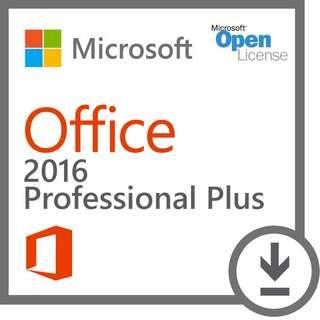 [Genuine] Microsoft Office 2016 Professional Plus CD Key - Windows
