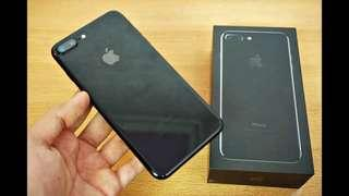 1Y5M Old iPhone 7 Plus Jet Black 128GB