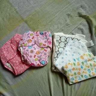 cloth diaper&lampin inserts bundle