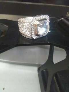 🚚 高級水晶戒指