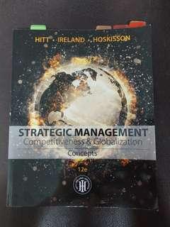 Strategic Management Competitiveness & Globalization 12 edition