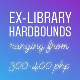Ex-Library Hardbounds