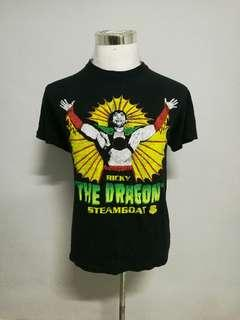 RICKY 'THE DRAGON' STEAMBOAT WWF Legend t-shirt