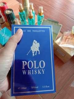 Parfum men original polo whisky blue 100ml