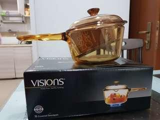 Visions Cookware Pot 1L