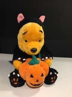 "Disney Winnie the Pool ""Halloween 萬聖節主題🎃 毛公仔"