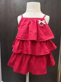 Sunbaby Red Dress (6-12m)