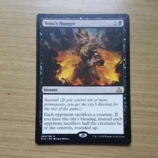 Magic the gathering RIX - Vona's Hunger