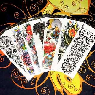 Temporary Tattoo Stickers X-Large Full Sleeve Arm