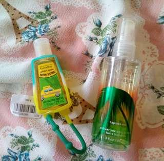 Fragrance Mist + Hand Gel