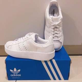 正品 Adidas 厚底 superstan BA7668 鞋