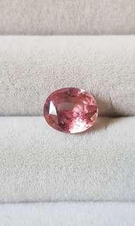 Pink sapphire 2.33 carats