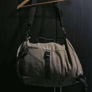 Chase Timmy Canvas Duffle Backpack Bag