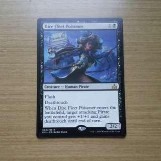 Magic the gathering RIX - Dire Fleet Poisoner