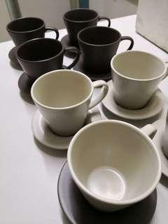 Ikea ceramic coffee cup