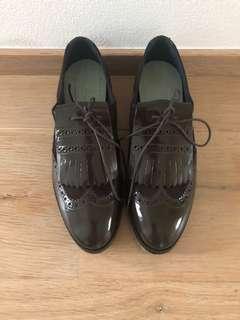 giordano ladies leather shoes 漆皮猄皮女裝皮鞋