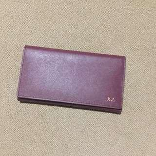 The Daily Edited(ted. ) Burgundy Wallet
