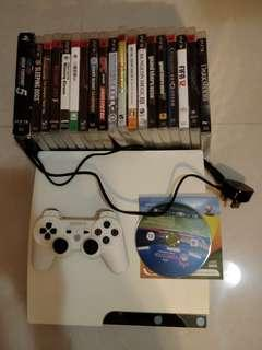 20 Games+ PS3 Console (CECH-2512B)100% work