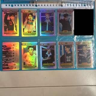 EXO Fansite Hologram Photocards