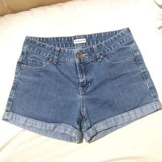 F&F Classic Denim High Waisted Shorts