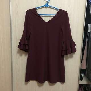 Fashmob Bellsleeved Dress XS