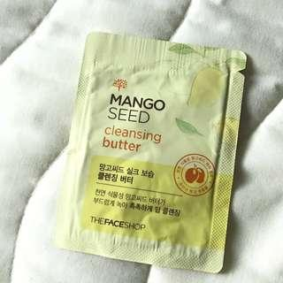 Mango Seed Cleansing Butter Sample