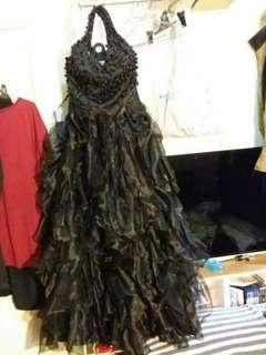 全新Evening Dress 黑色晚裝