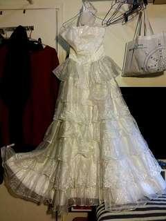 Wedding Dress 白色婚紗