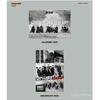UPCOMING] EXO 5TH ALBUM: DON'T MESS UP MY TEMPO POSTER 💖