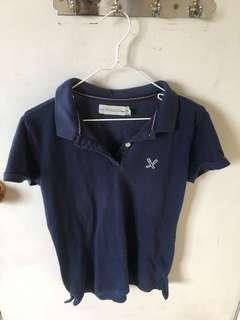 Navy Blue Regatta Collared Shirt