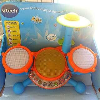 Vtech音樂英語數字學習鼓