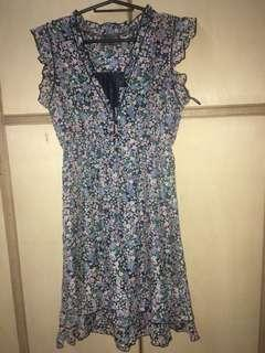 Vneck flowy dress