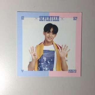 [WTS FAST] SEVENTEEN OFFICIAL PHOTOCARDS
