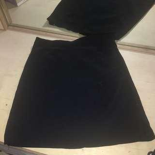 Pierre Marie Black Skirt
