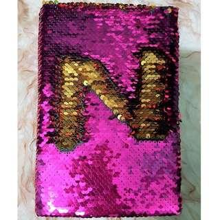 Sequins Notebook
