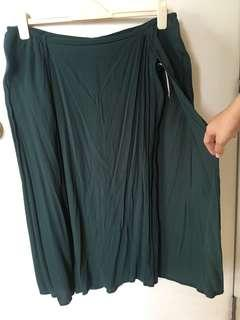Jade Green Structured Cape Sheath Dress