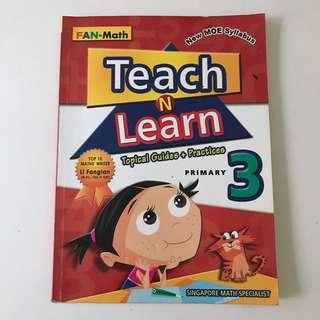 Fan-Maths Primary 3 Teach and Learn Assessment Book