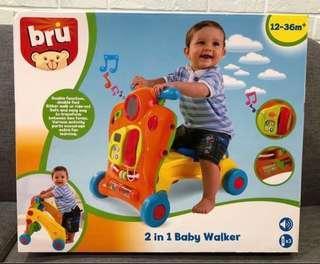 Bru 2 in 1 Baby Walker - Brand New In Box